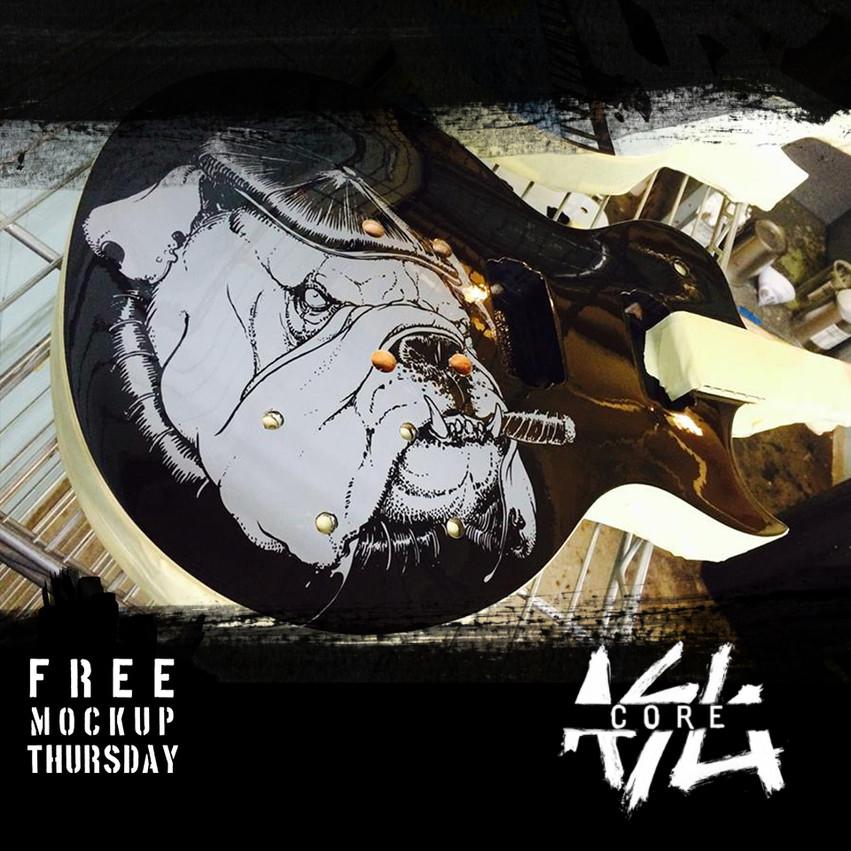 Free Mockup Thursday Facebook Ad