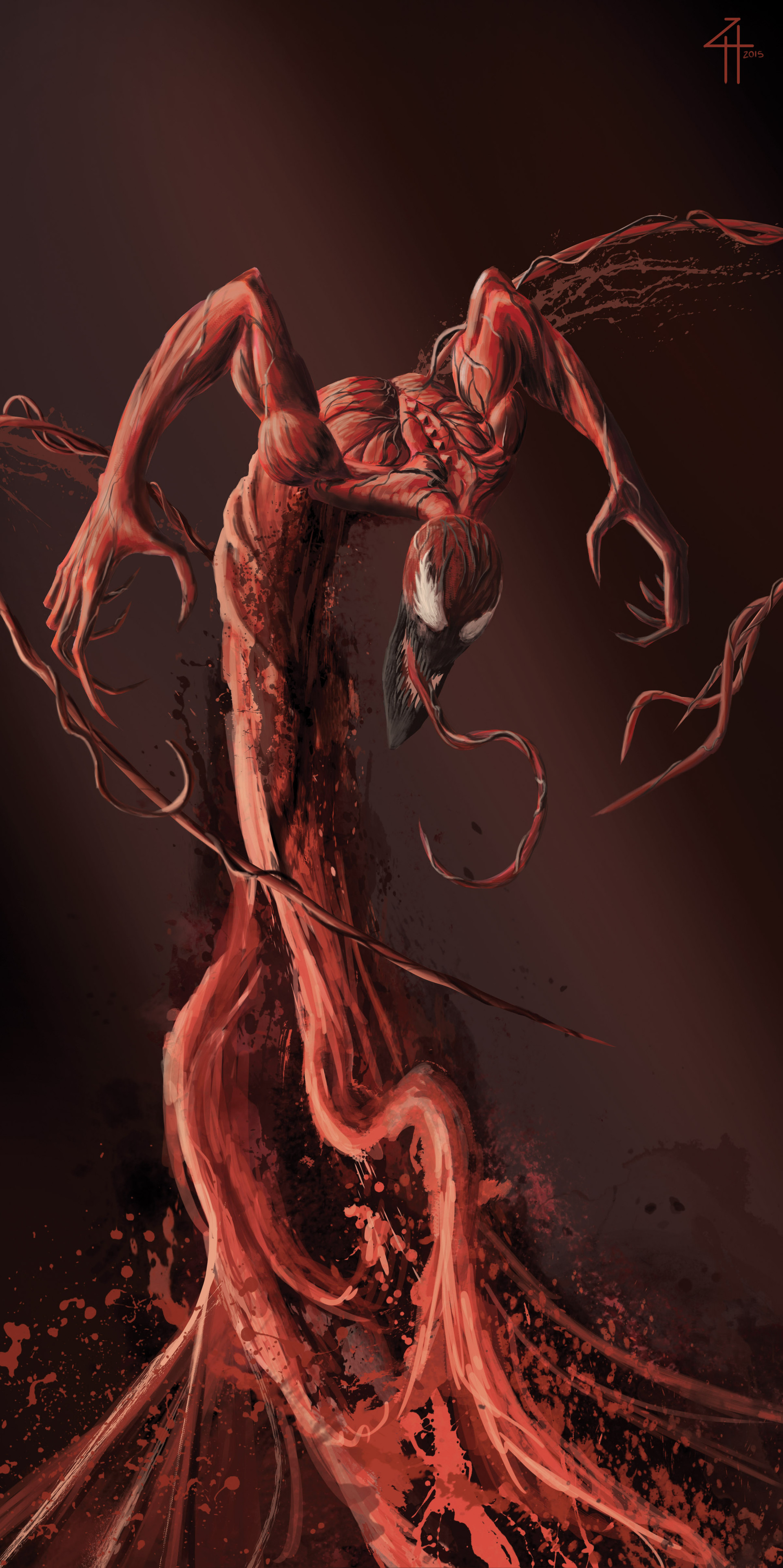 Carnage Illustration