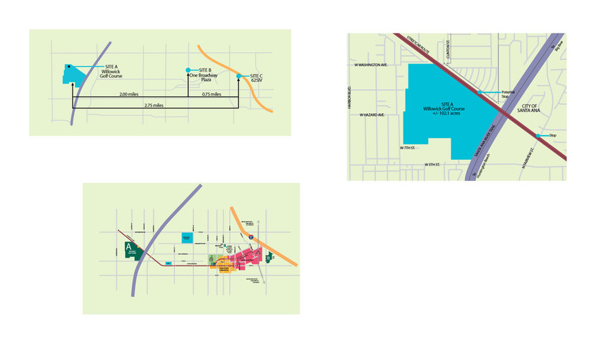 Amazon Road and Fiber Maps