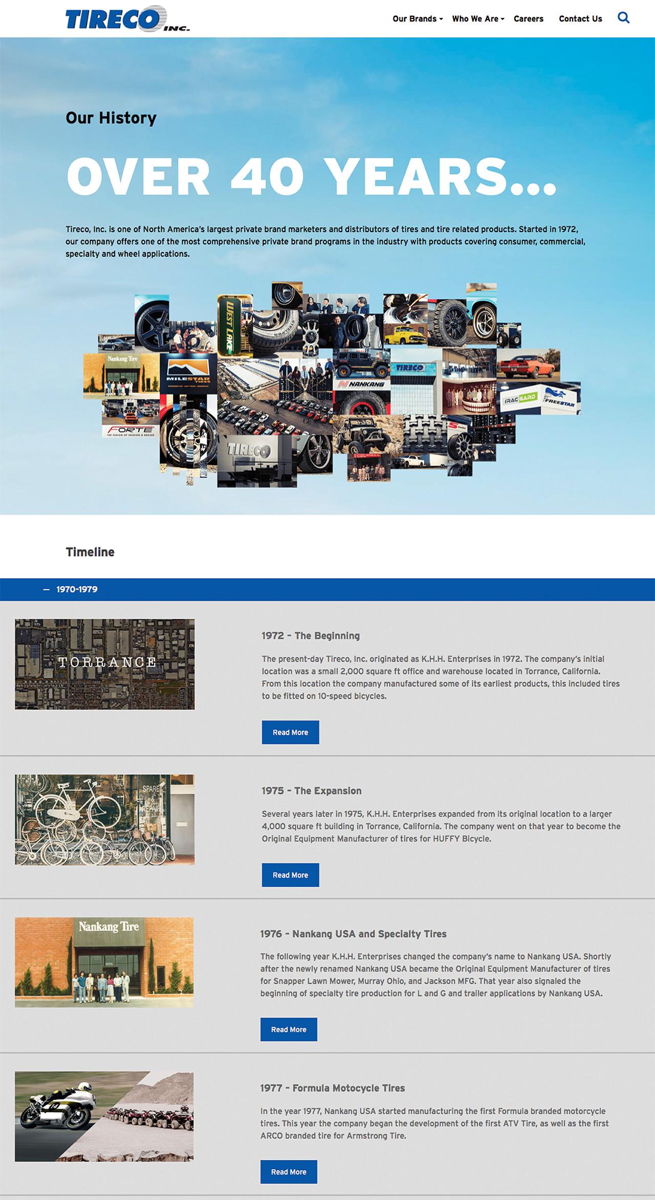 Tireco Website