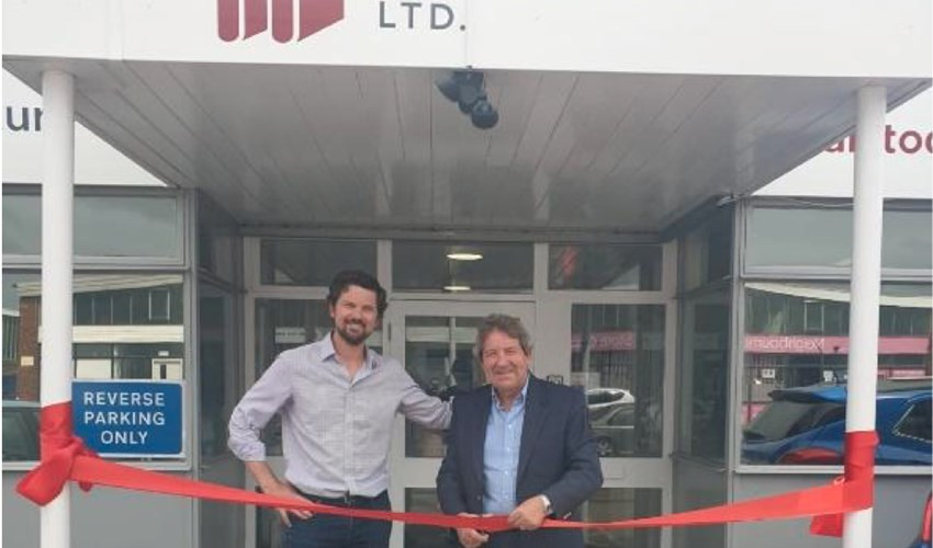 Local MP opens the factory