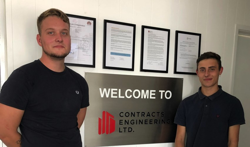 Welcoming our two new apprentices to the CEL team