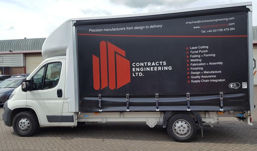 New Branded Delivery Van