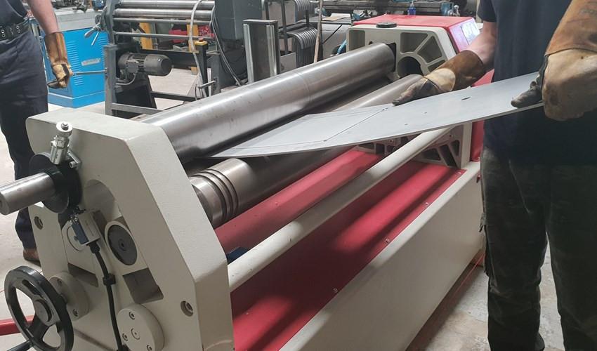 AKYAPAK Plate Rolling Machine