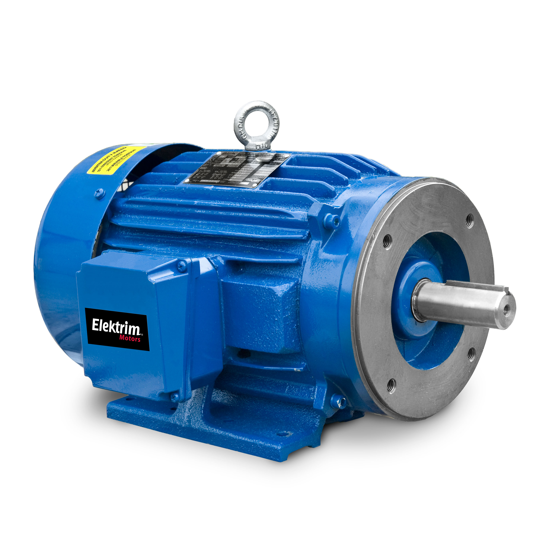 250HP, 6P, 3Ph, 460V 60Hz, 449TC, TEFC, F1, C-Face, Performance Series - Premium Efficient Motor