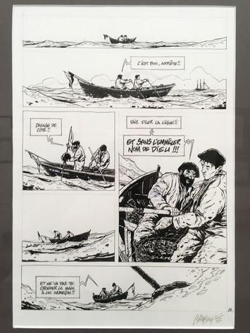 """Chabouté """"Terre Neuvas"""" page 24 planche originale"""