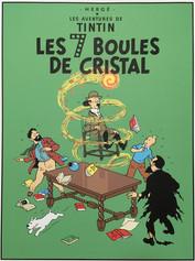 Tintin Les 7 Boules de cristal