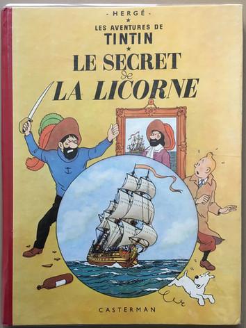 "Album Tintin ""Le Secret de la Licorne"""