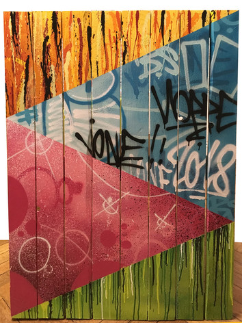 Jone Hopper Streeet Patchwork (abstract graffiti collection)