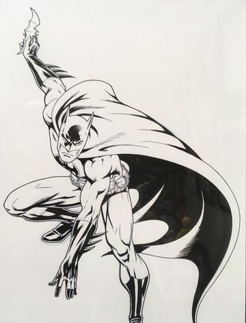 Fabrizio Batman dessin original