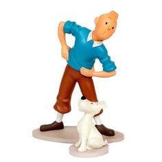 Tintin et Milou gymnastique
