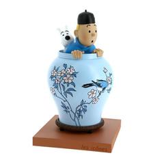 """Potiche """"Le Lotus Bleu"""" collection Icônes"""