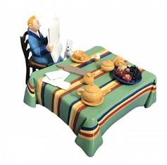 Tintin petit-déjeuner