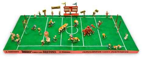 Astérix chez les Bretons match rugby
