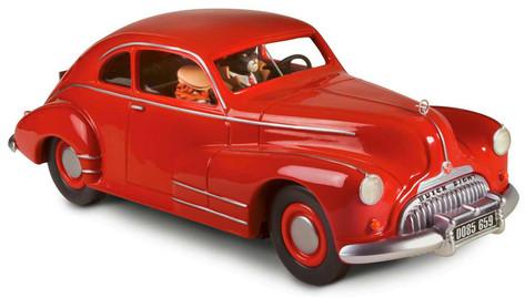 Buick rouge série Blacksad