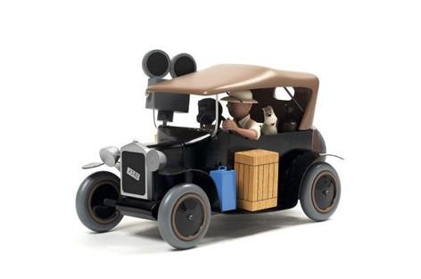 """Ford T """"Tintin au Congo"""""""