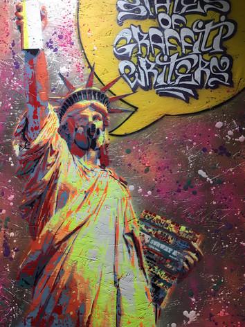 Sand Un.States of Graffit Writers