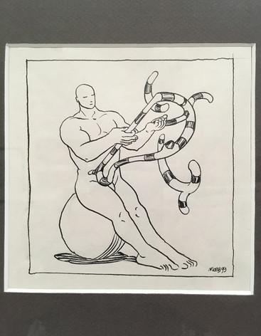 Moebius dessin original