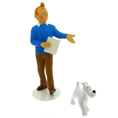 """Tintin """"Le musée imaginaire"""""""