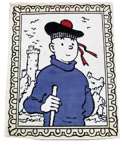 Tapis Tintin