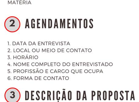 3 modelos editáveis de Pauta Jornalística para BAIXAR