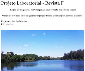Projeto Laboratorial - Revista F