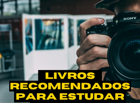 Livros recomendados para estudar Cinema e Videodocumentário