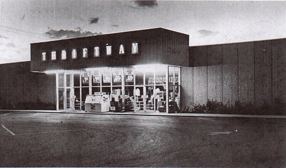 Old Porter's Thriftway Store