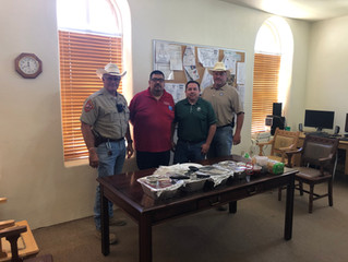 Lunch for Brewster County Sheriff's Office