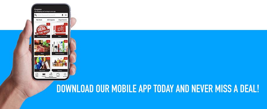 Porter's Coupon App Banner