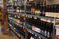 Craft Beer & Wine Selection