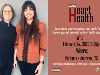 Heart Health Shopping Tour Announced For Andrews, Texas