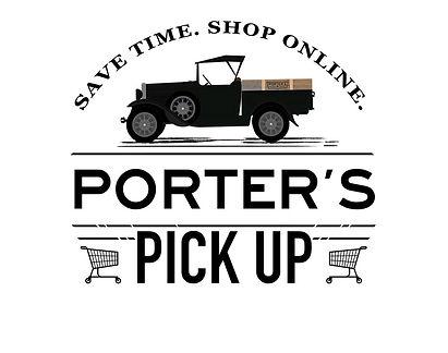 Porter's Pick Up Logo
