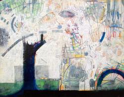 Big Tree, acrylic on panel, 11 x 14, 2012