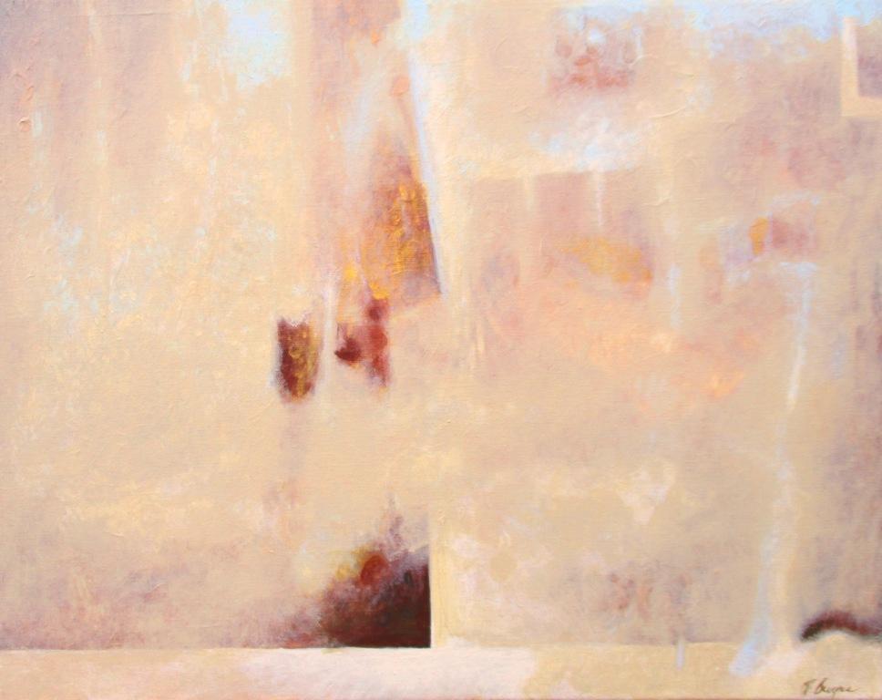 Rain on Tuesday, acrylic on canvas, 16 x 20, 2016