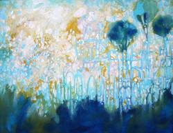 Promise, acyrlic on canvas, 11 x 14, 2013