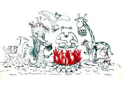 Zeichnung von Eva Palm