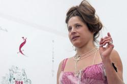 Soledad Tohav als Aktionsköchin