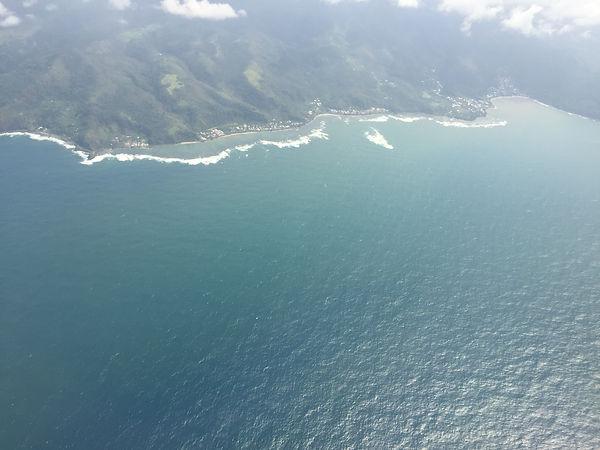 Apia Samoa aerial view
