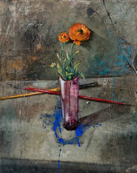 Fiore nel bicchiere