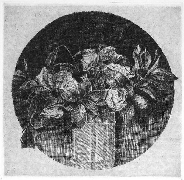 Il vaso con i fiori