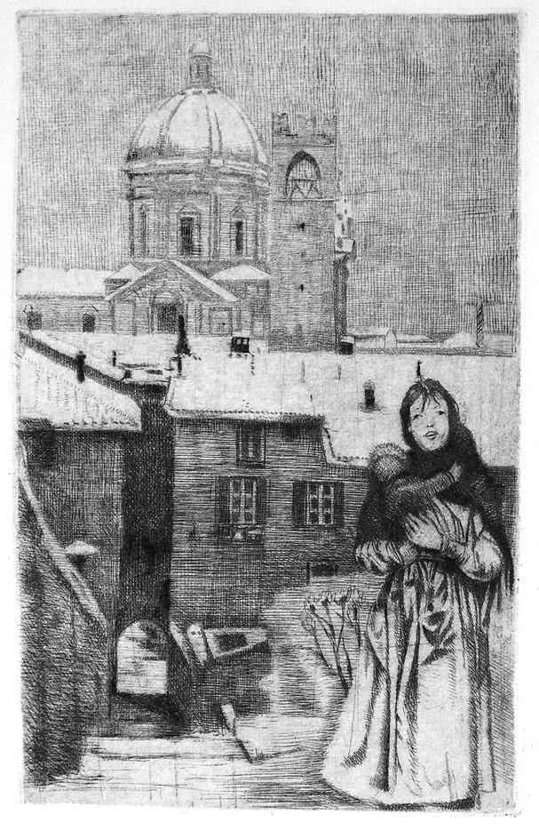 Maternità sotto la neve