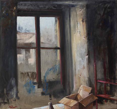 La finestra dello studio