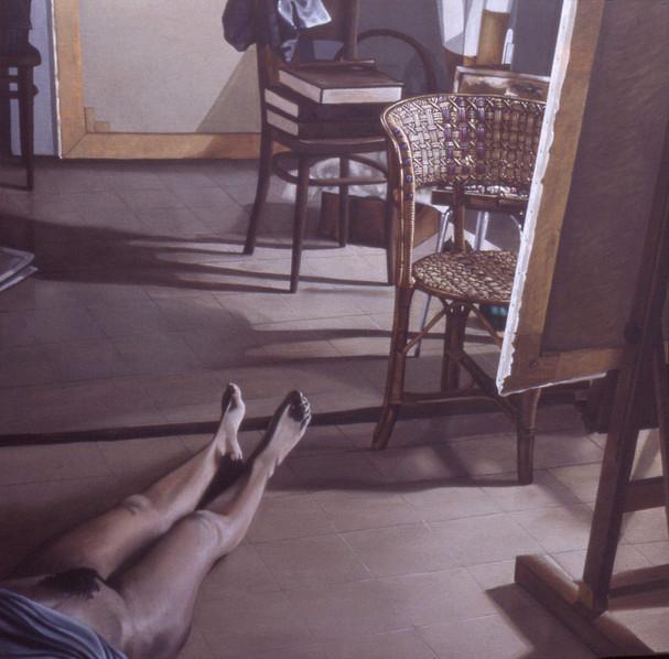 Figura nello studio