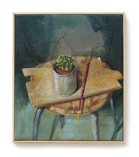 Il barattolo con la pianta grassa