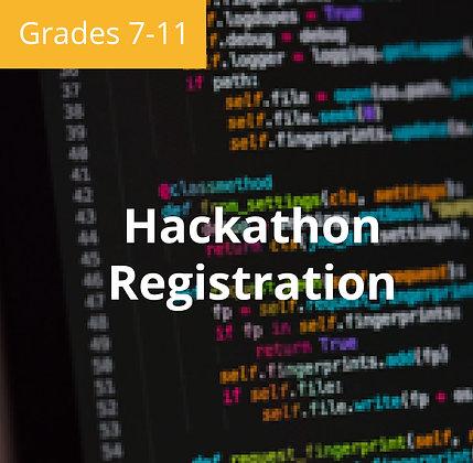 2019 Ivy Seed Youth Hackathon Registration | Grades 7-11