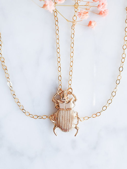 COLLIER SCARABEO