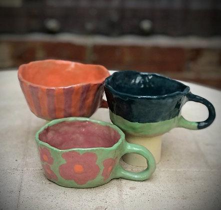 Kit2: Clay+Glaze+Firing