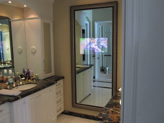 Full-Length Frame with Mirror TV