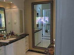 Full-Length Frame with Mirror TV